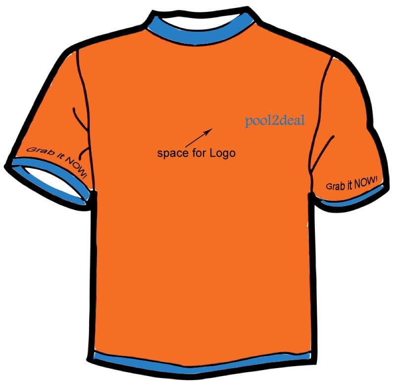 Contest Entry #                                        11                                      for                                         T-shirt Design for pool2deal.com