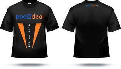 Contest Entry #                                        18                                      for                                         T-shirt Design for pool2deal.com