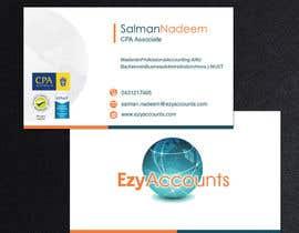 Nro 35 kilpailuun Design some Business Cards for an Accountant käyttäjältä pkrishna7676
