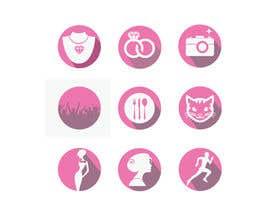 #21 untuk Design 9 Icons oleh svjetlanadjujic