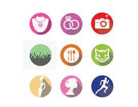 #22 untuk Design 9 Icons oleh svjetlanadjujic