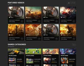 adixsoft tarafından Designing A Gaming Video Website için no 8