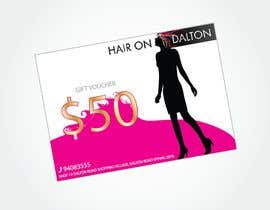 #148 for Stationery Design for HAIR ON DALTON av MarcusPan