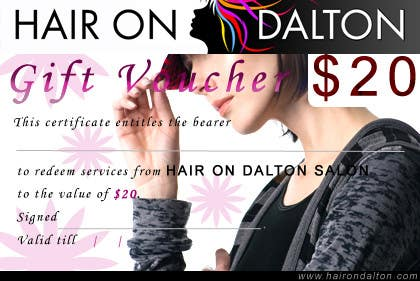 Kilpailutyö #48 kilpailussa Stationery Design for HAIR ON DALTON