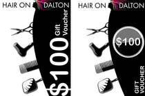 Graphic Design Kilpailutyö #107 kilpailuun Stationery Design for HAIR ON DALTON