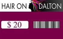 Graphic Design Zgłoszenie na Konkurs #6 do konkursu o nazwie Stationery Design for HAIR ON DALTON