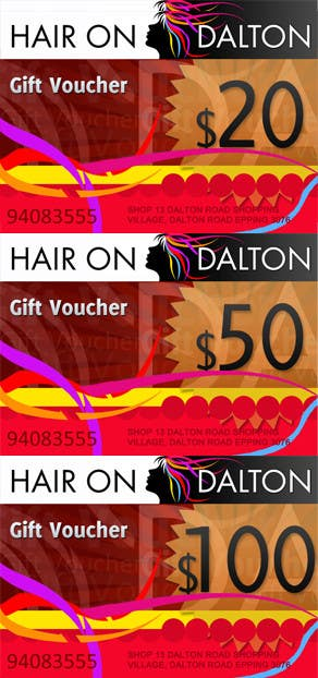 Contest Entry #92 for Stationery Design for HAIR ON DALTON