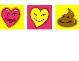 #4 para 5 Emoji icon designs por hrossdesign