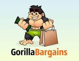 #26 cho Logo Design for Gorilla Bargains bởi GreenAndWhite