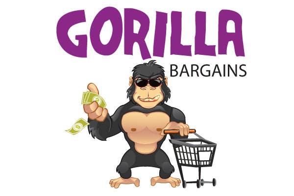 Proposition n°43 du concours Logo Design for Gorilla Bargains