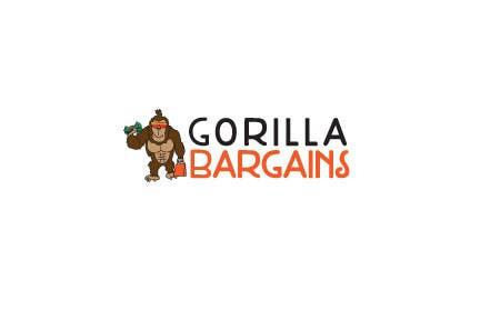 Contest Entry #32 for Logo Design for Gorilla Bargains