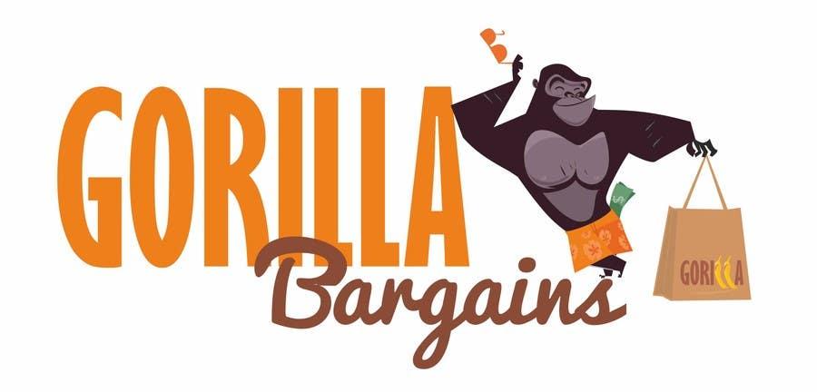 Logo Design Contest Entry #36 for Logo Design for Gorilla Bargains