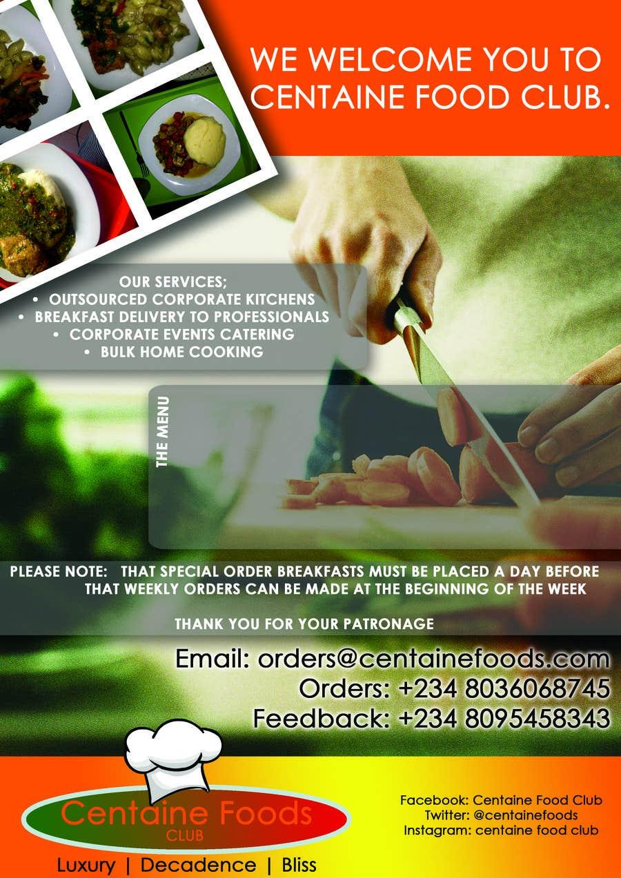 Inscrição nº 8 do Concurso para Design some Visual Identity Materials for Centaine Foods