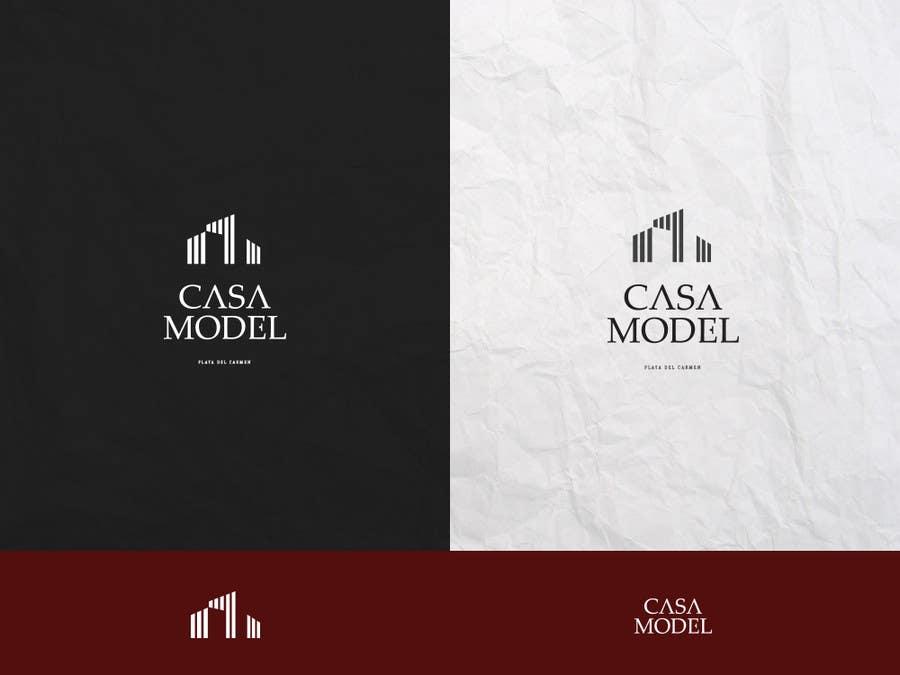 Konkurrenceindlæg #34 for Logo Design for Casa Model Luxury Home rental/Hotel