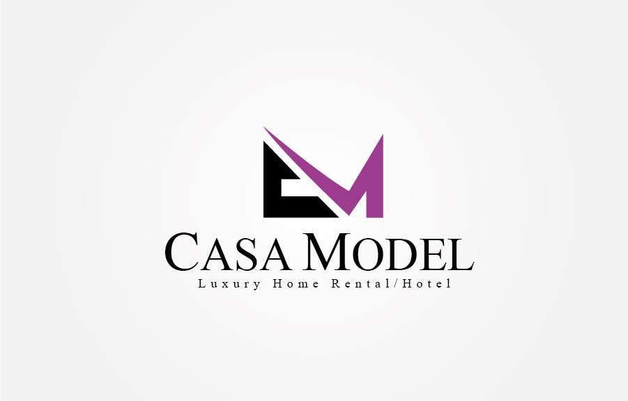Конкурсная заявка №21 для Logo Design for Casa Model Luxury Home rental/Hotel
