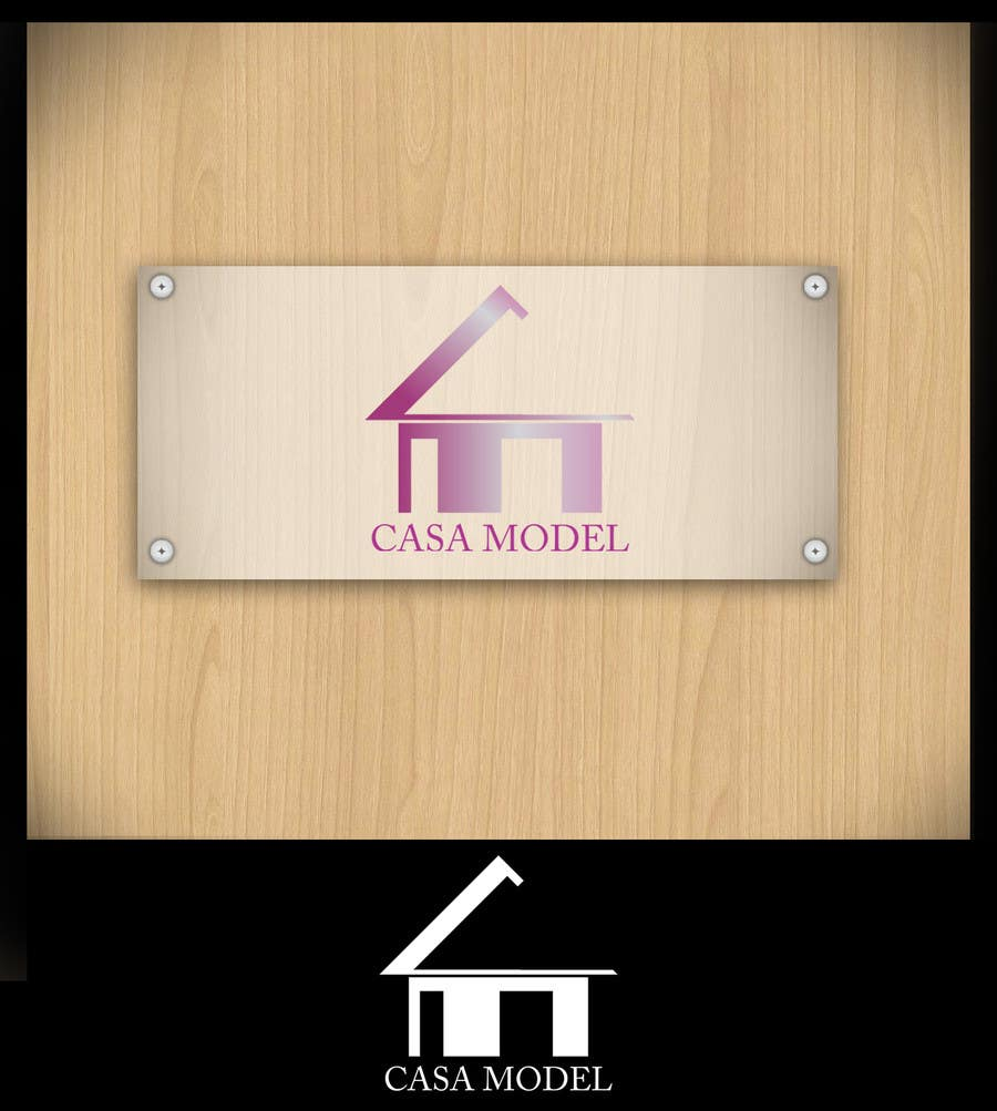 Konkurrenceindlæg #17 for Logo Design for Casa Model Luxury Home rental/Hotel