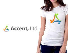 #117 untuk Logo Design for Accent, Ltd oleh csdesign78