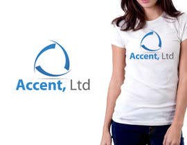 #107 pentru Logo Design for Accent, Ltd de către csdesign78
