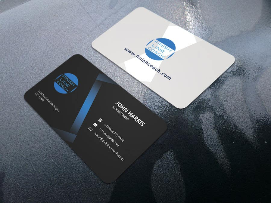 Entry #42 by Reyad004 for Design an innovative die cut business card ...