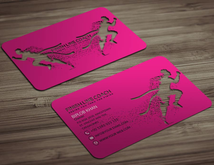 #210 for Design an innovative die cut business card! by Aliakbarbiplob