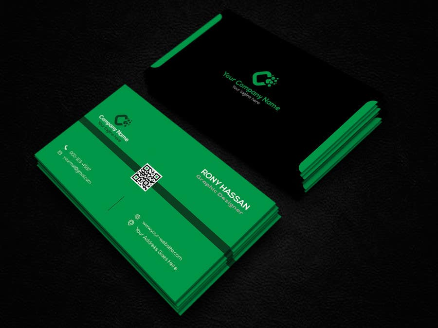 Entry #101 by rhrvirus for I need business cards designed in 5 ...