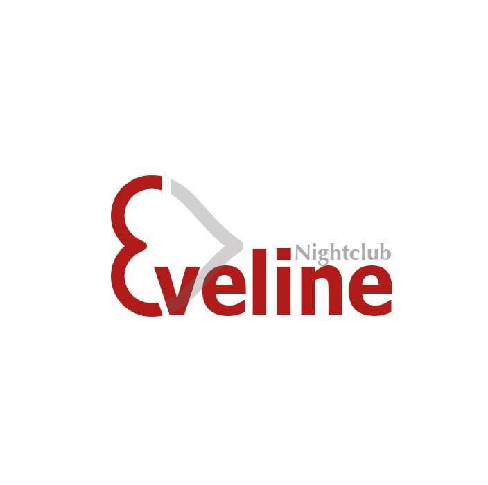 Kilpailutyö #                                        24                                      kilpailussa                                         Nightclub Eveline Logo Modification