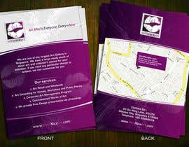 #78 untuk Flyer Design for Very Nice Art Pte Ltd (veryniceart.com) oleh Jabinhossain