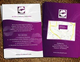 #82 para Flyer Design for Very Nice Art Pte Ltd (veryniceart.com) por Jabinhossain