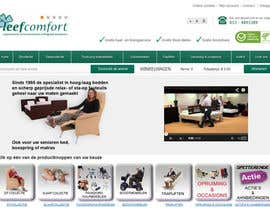 #28 cho Looking for a redesign of the header of leefcomfort.nl bởi blackgraphics