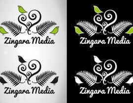nº 196 pour Logo Design for Zingara Media par architechno23