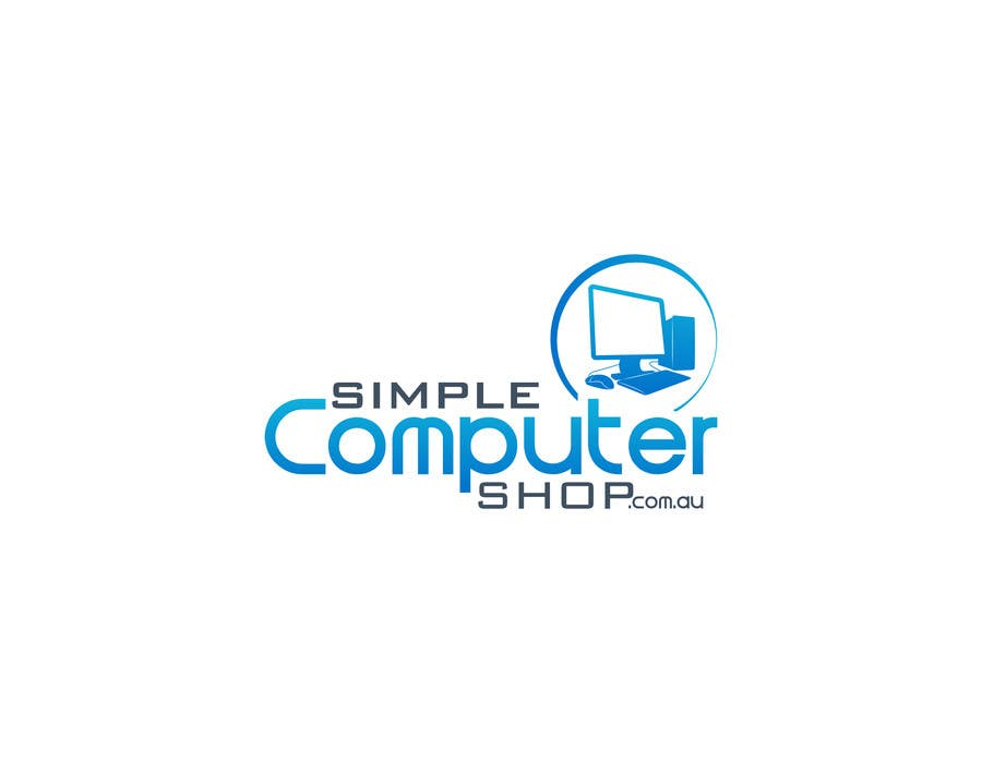 entry 110 by riteshakre for design a logo for simple computer shop