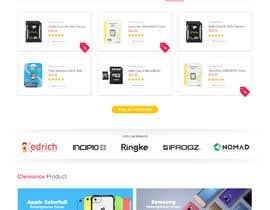 #34 for Website Homepage Mock-Up by matthewfariz