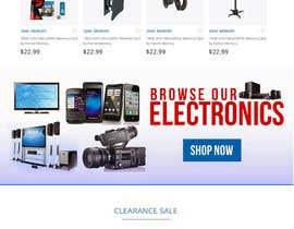 #21 for Website Homepage Mock-Up by sharpensolutions