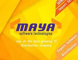 Trashi12345 tarafından Design a Brochure for My Company - Maya için no 3