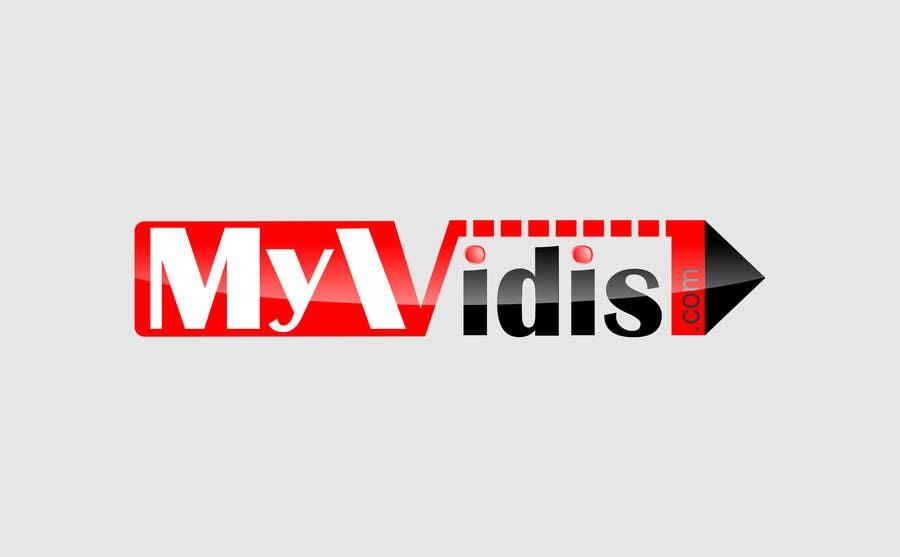 """Intrarea #442 pentru concursul """"Logo Design for MyVidis.com"""""""