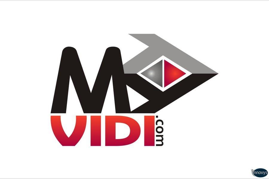 Contest Entry #659 for Logo Design for MyVidis.com