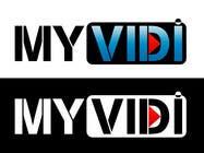 "Graphic Design Intrarea #205 pentru concursul ""Logo Design for MyVidis.com"""