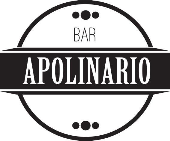 Penyertaan Peraduan #                                        8                                      untuk                                         Diseñar un logotipo for Bar Apolinario