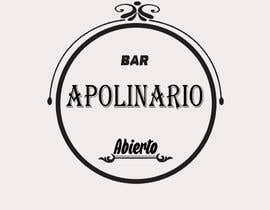 #38 untuk Diseñar un logotipo for Bar Apolinario oleh evedroop
