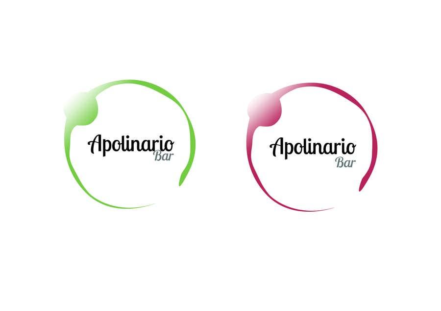 Penyertaan Peraduan #                                        39                                      untuk                                         Diseñar un logotipo for Bar Apolinario