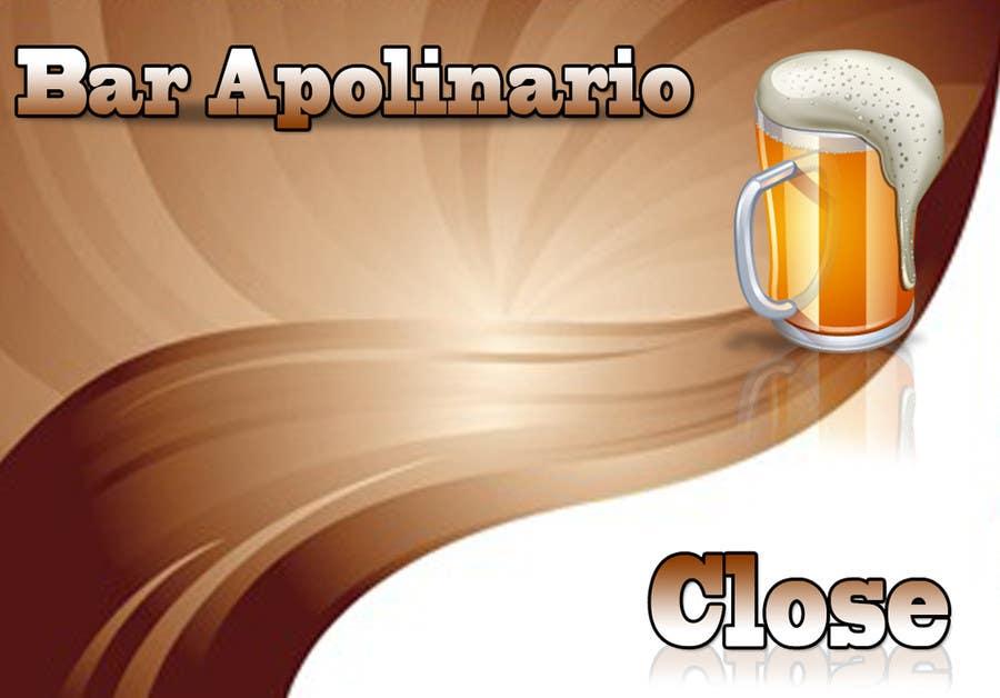 Penyertaan Peraduan #                                        50                                      untuk                                         Diseñar un logotipo for Bar Apolinario