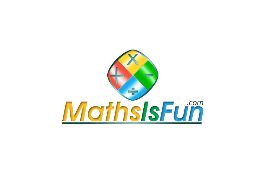 #286 for Logo Design for MathsIsFun.com by malakark