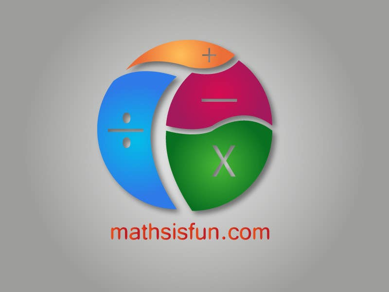 #319 for Logo Design for MathsIsFun.com by Necrop