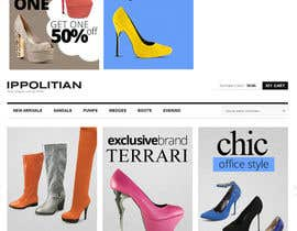 #5 for Website Design for Re-Design a Theme (Joomla E-Commerce) by MishAMan