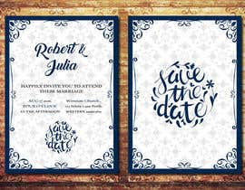 #1 for Wedding Invitation Design Contest by PaulaGamal95
