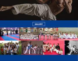 #39 для Website Design / Template Mockup for Martial Arts Club от marioandi
