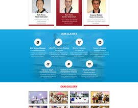 #32 для Website Design / Template Mockup for Martial Arts Club от gravitygraphics7