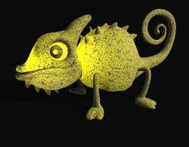 #2 untuk 3D mold design for Chameleon toy oleh Burkii