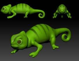 #17 untuk 3D mold design for Chameleon toy oleh labscastle