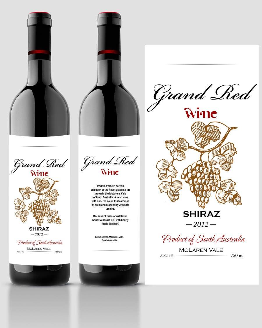 Inscrição nº                                         68                                      do Concurso para                                         Print & Packaging Design for a wine brand